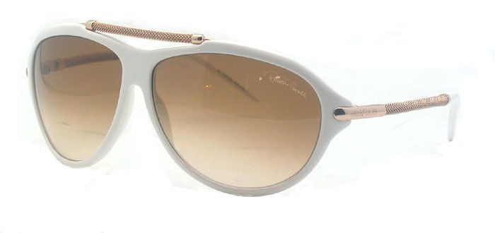 Roberto Cavalli RC 401 483 Womens White Sunglasses
