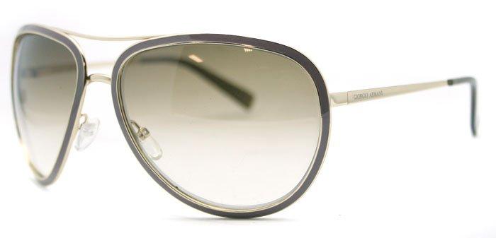 Giorgio Armani GA 564 QQX Gold Womens Sunglasses