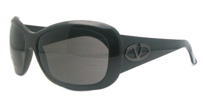 Valentino 5555/S D28 Womens Black Sunglasses
