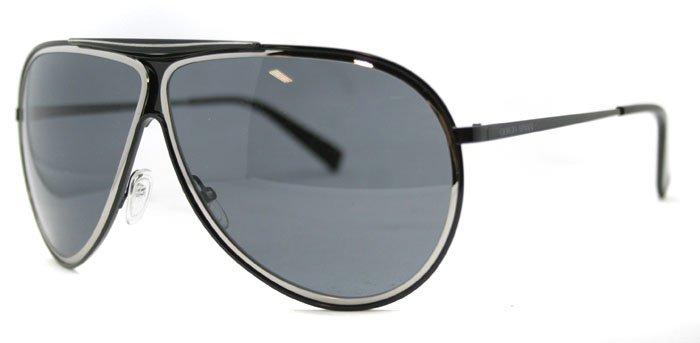 Giorgio Armani GA 570 JIN Black Unisex Sunglasses