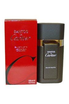 Cartier Santos De Cartier 3.4 oz EDT Spray Men NEW