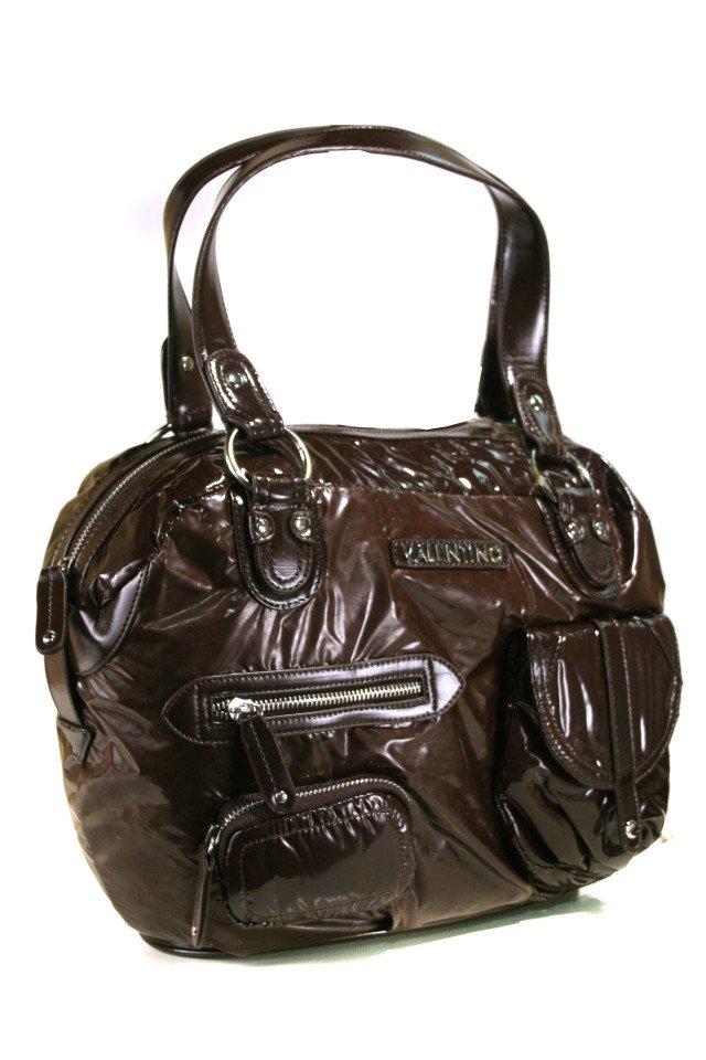 Valentino by Mario Valentino Brown Shoulder Bag