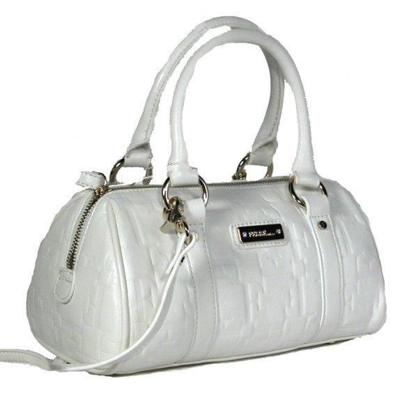 Gianfranco Ferre 67 TXDBHM 80625 White Leather Handbag