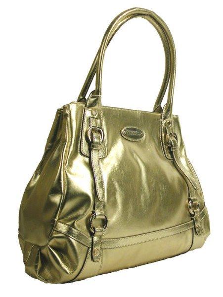 Gianfranco Ferre 67 TXFBKB 80584 Gold Handbag Purse