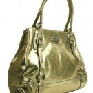 Gianfranco Ferre 67 TXFBKB 80584 Gold Handbag Purse