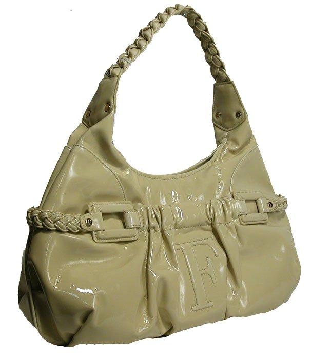 Gianfranco Ferre 67 TXDBLA 80586 Beige Handbag Purse