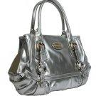 Gianfranco Ferre 67 TXDBKE 80584 Silver Handbag Purse