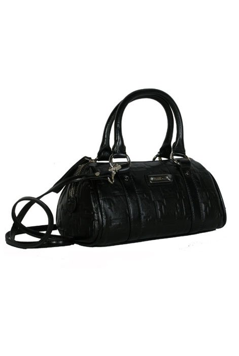 Gianfranco Ferre 67 TXDBHM 80625 Black Leather Handbag