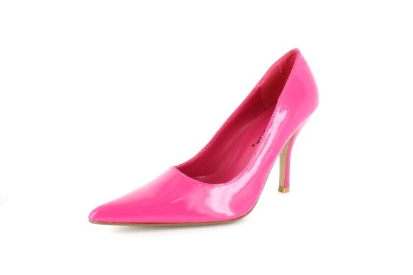 NEW Fuchsia Patent Pointy Toe Pumps Womens Shoes