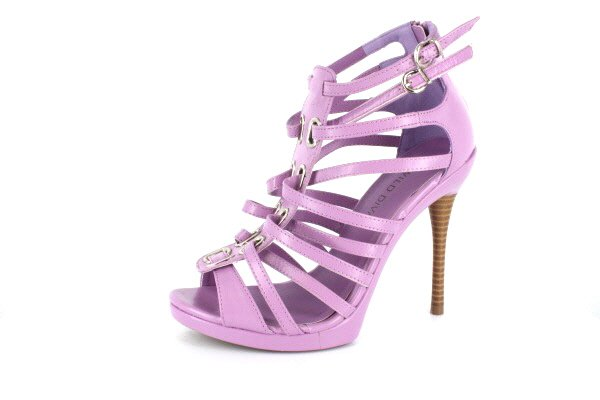 NEW Lilac Strappy High Heels Shoes
