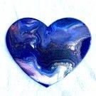 Heart shaped handpainted coaster/Christmas tree ornament
