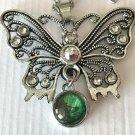 Butterfly Snap Pendant Mini 12mm Birthday Christmas Mothers Valentine's Day Gift