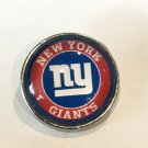 New York Giants football snap button 18mm fit ginger snap Jewelry Fast Shipping