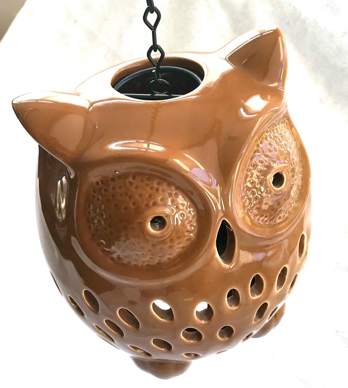 Owl lantern Candle holder Halloween Thanksgiving home decor Fall