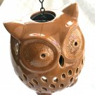 Owl lantern Candle holder Halloween Thanksgiving home decor Fall