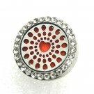 Aromatherapy Perfume Snap Locket Fit 18-20mm Gingersnaps Jewelry button Chunk