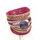 Cuff Bracelet handmade 20mm snap