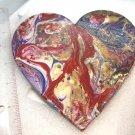 "Heart shape magnets 5"" handmade"