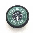 Brooch Pin 30mm Handmade Starbucks