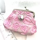 Coin purse with handmade 20mm snap