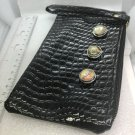 Zipper Clutch withHandmade 3x20mm Snaps  Small Party
