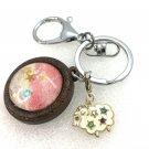 Handmade dome keychain charms Sheep baby stars
