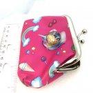 Unicorn Coin purse with handmade 20mm snap