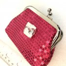 Sparkles Coin purse with handmade 20mm snap