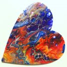 Happy Heart #5 Abstract  Painting Art Acrylic ORIGINALcanvas