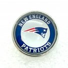 FOOTBALL New England Patriots  snap button 18mm fit ginger snap Jewelry Fast Shipping