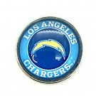 Los Angeles  Chargers snap button 18mm fit ginger snap Jewelry Fast Shipping