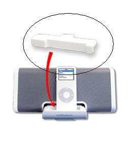 Altec Lansing inMotion iM5 iPod Nano Adapter