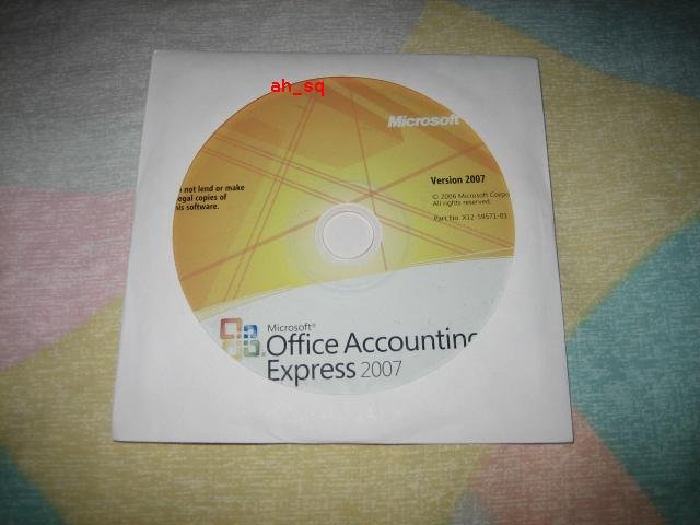 Microsoft Office Accounting Express 2007