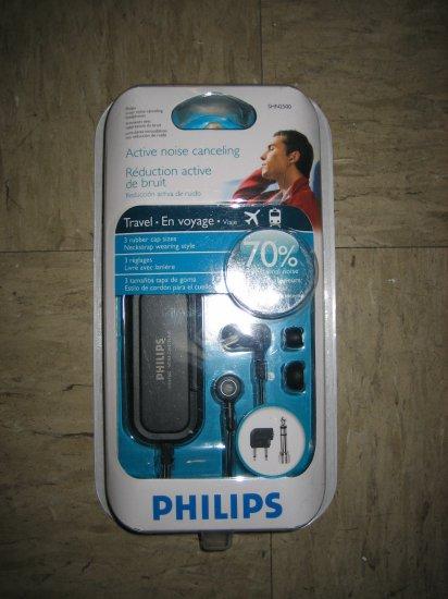 Brand New Philips SHN2500 - Headphones ( ear-bud ) - noise canceling
