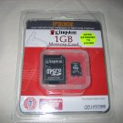 Kingston 1GB microSD Special Education Logo Edition Secure Digital Flash Card Reader - SDC/1GB-EDU