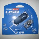 Brand New Sealed Dane-Elec 2GB zMate Pen USB 2.0 Flash Drive - 2 GB - USB - DA-ZMP2-2048-R