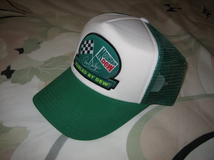 Limited Edition Darrell Waltrip Mountain Dew Racing Cap