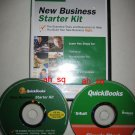***NEW*** Intuit QuickBooks Business Starter Kit Simple 2 CD
