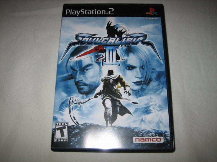 Soulcalibur III: Namco Hometek,Inc. (Playstation 2, 2005) Soul Calibur 3