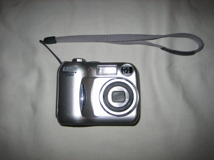 Nikon Coolpix 3100 3MP Digital Camera w/ 3x Optical Zoom for backup