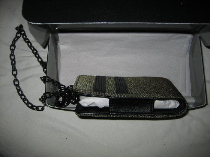 Brand New Derek Lam Designer Cell Mobile Phone Case Pouch For Men