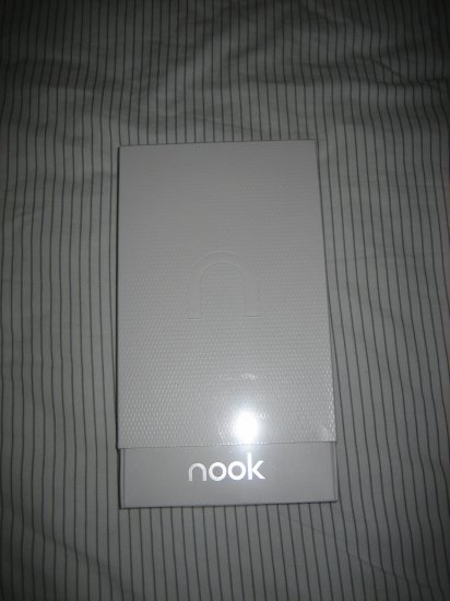 Brand New Sealed Barnes and Noble NOOK 3G + Wifi factory sealed