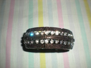 Brand New Fashion Bangle With Stones Lady Party Jewelry