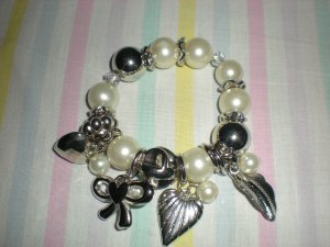 Brand New Fashion Bracelet With Multiple Charms Lady Party Jewelry