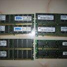 PC3200U DDR 2x1GB DDR RAM Memory 2GB excellent condition
