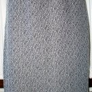 Pinup Rockabilly Vintage Style Black White Tweed Pencil Skirt L Large 14 $5