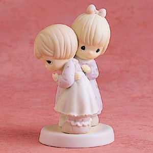 Precious Moments Porcelain Figurine - That's What Friends Are For