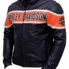 harley davidson victoria lane cowhide motorcycle leather jacket
