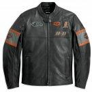Harley Davidson Motorcycle Screaming Eagle cowhide leather biker jacket for men