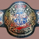 ECW WORLD HEAVYWEIGHT WRESTLINg LEATHEr CHAMPIONSHIp BELt ADULt SIZe
